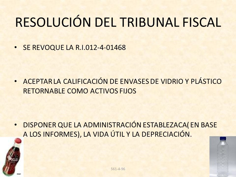 RESOLUCIÓN DEL TRIBUNAL FISCAL