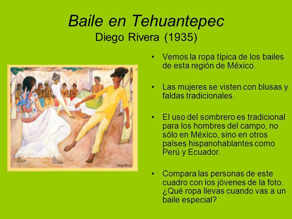 Baile en Tehuantepec Diego Rivera (1935)