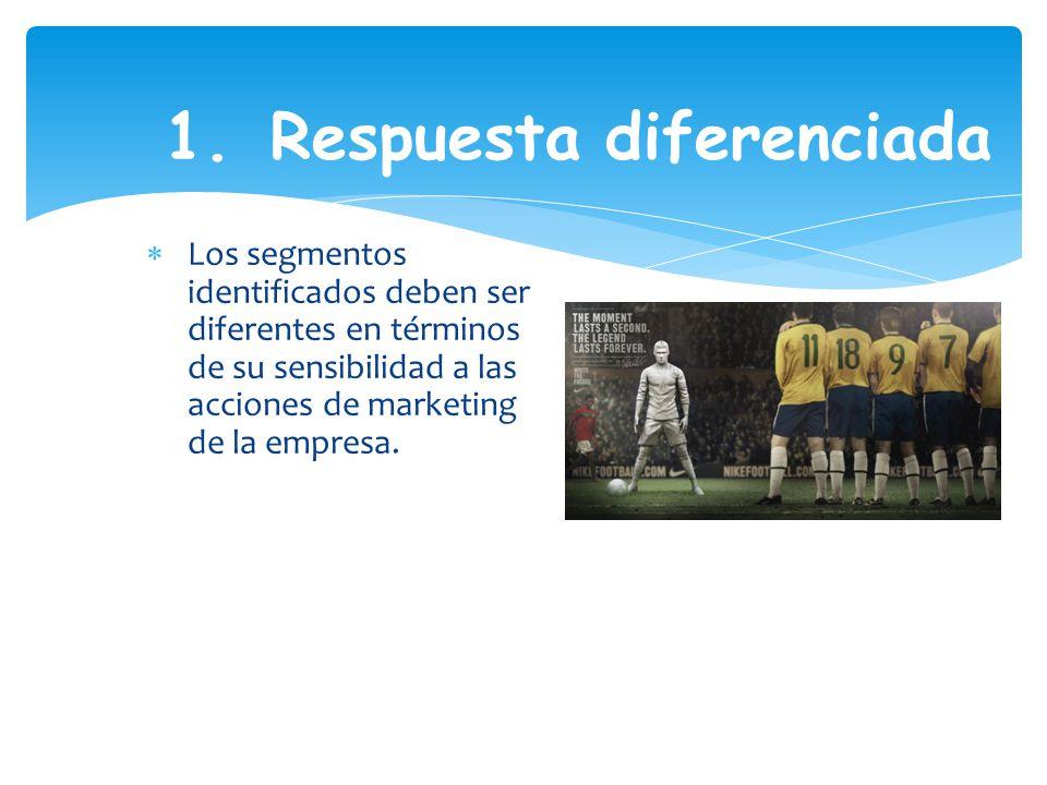 1. Respuesta diferenciada