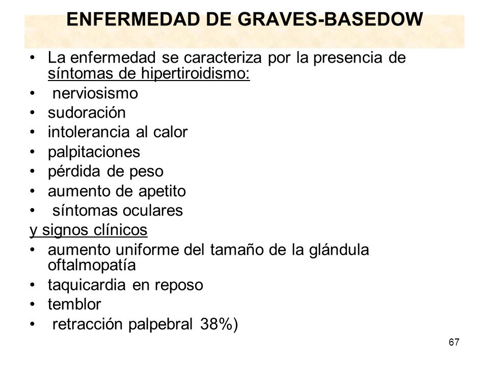ENFERMEDAD DE GRAVES-BASEDOW