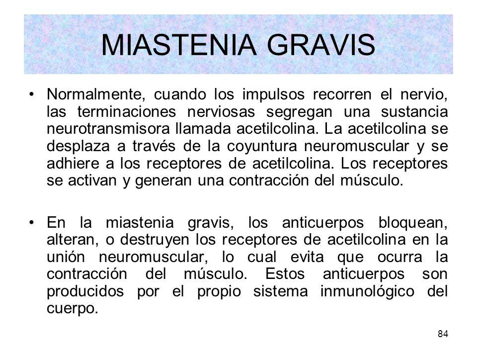 MIASTENIA GRAVIS