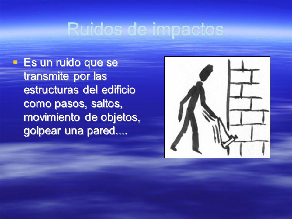 Ruidos de impactos