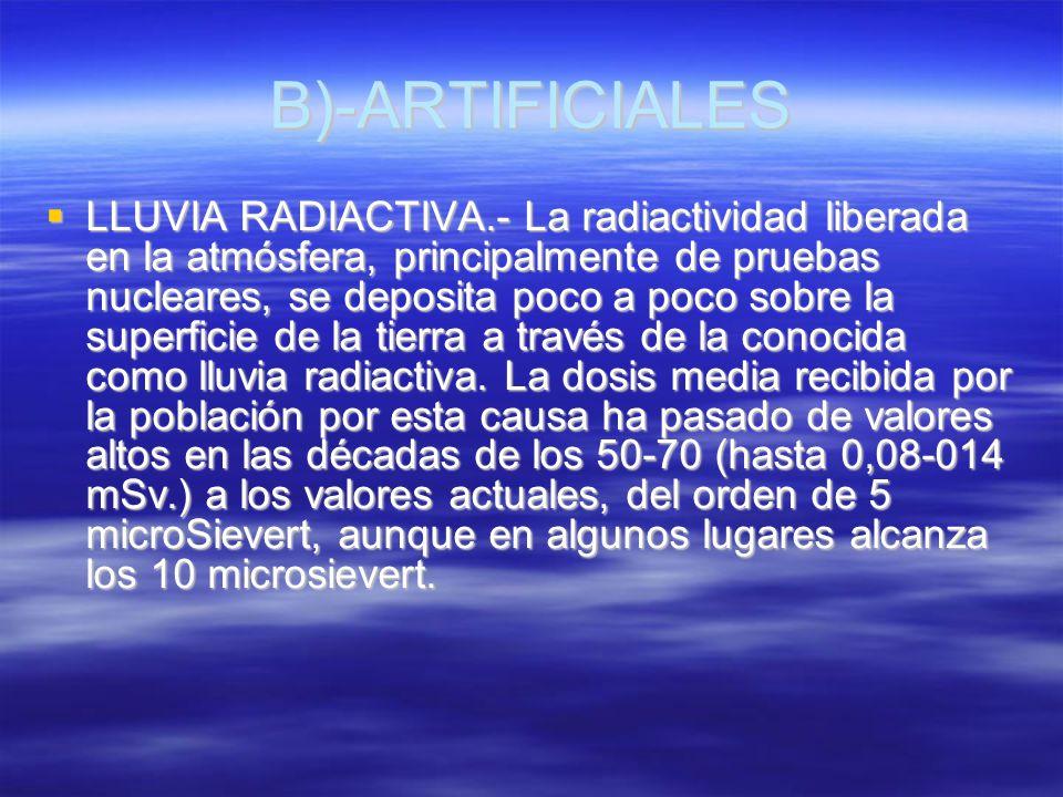 B)-ARTIFICIALES