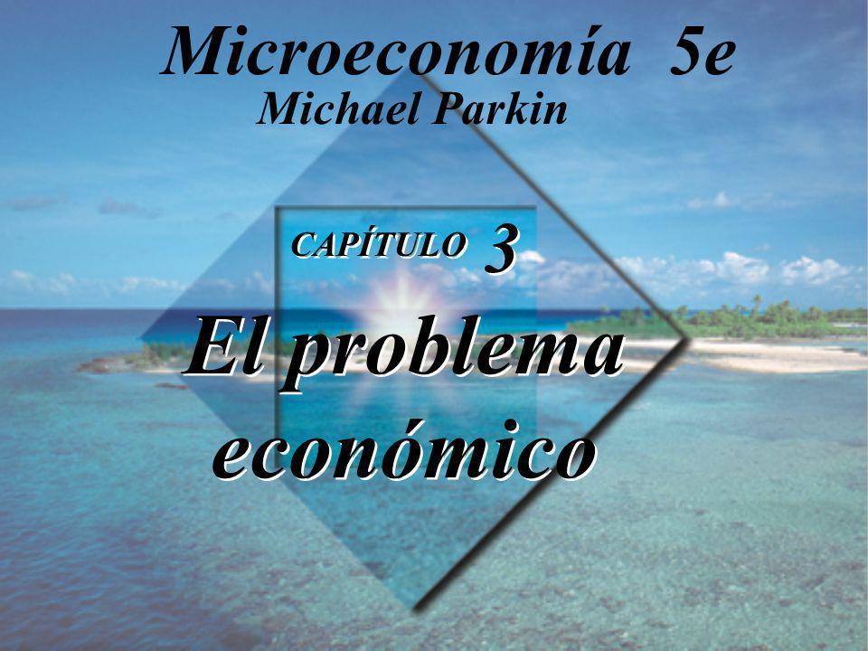 Microeconomía 5e Michael Parkin CAPÍTULO 3 El problema económico