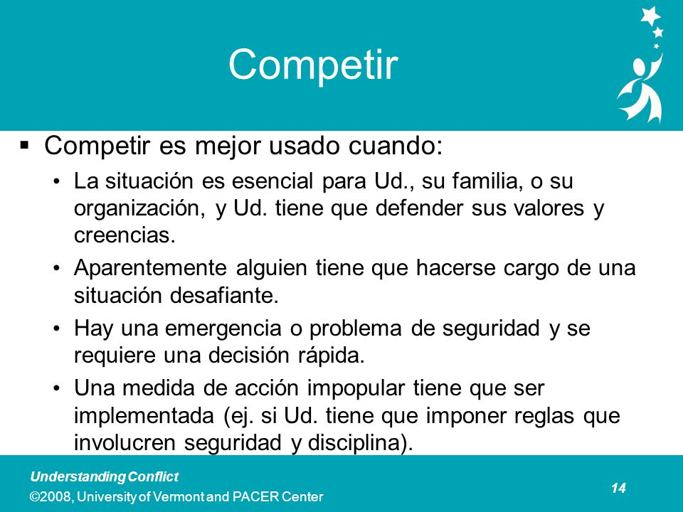 Competir Costo Personal y profesional