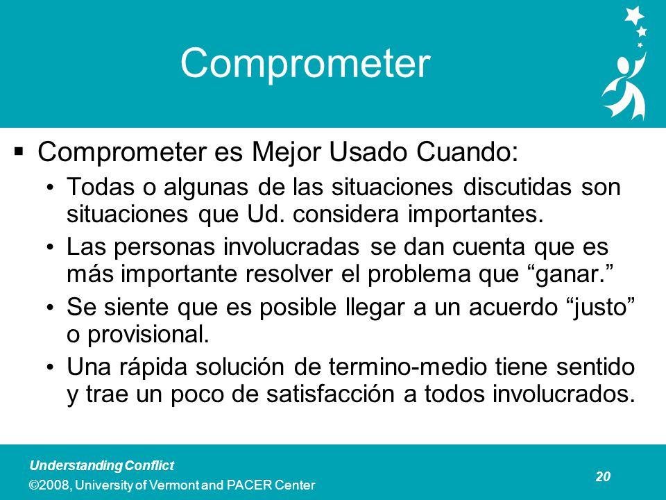 Comprometer Costo Personal y profesional