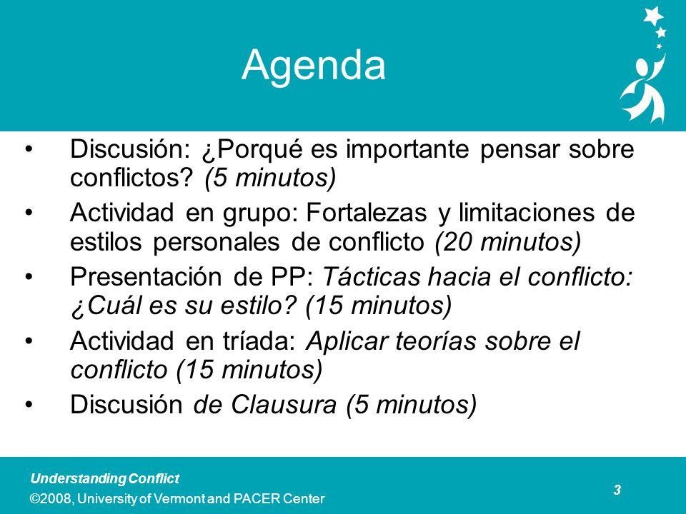 Discusión: Pensando Sobre Conflicto