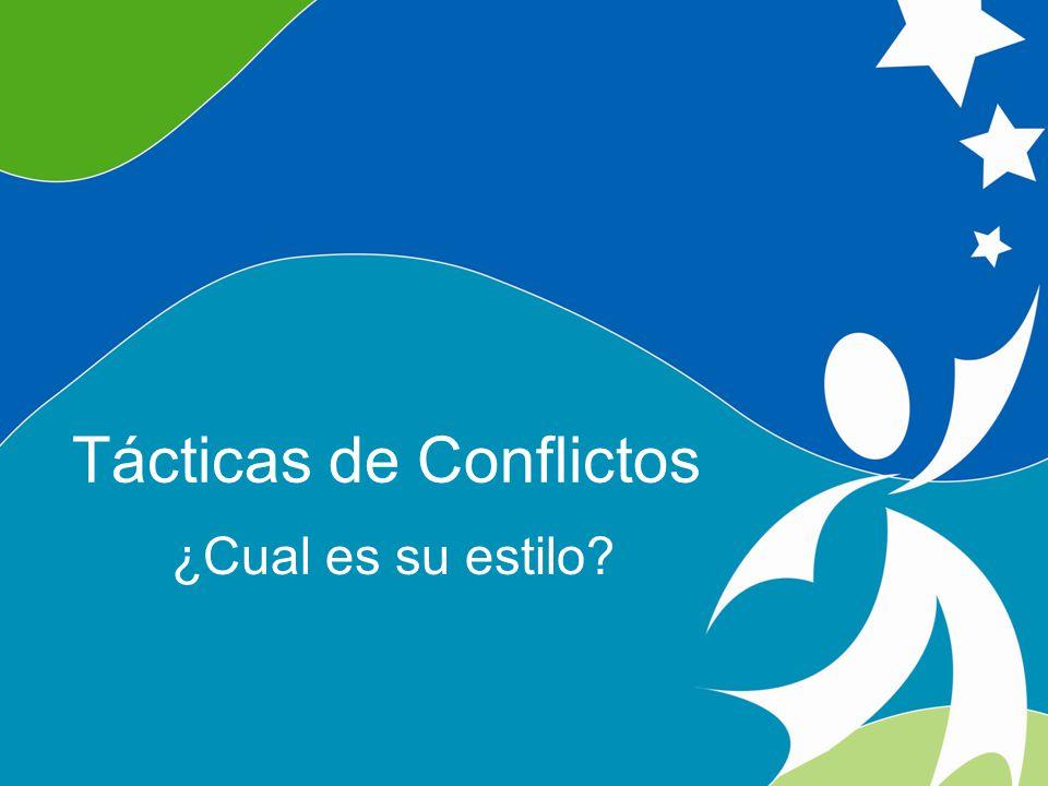 Cinco Estilos de Respuesta a Conflictos