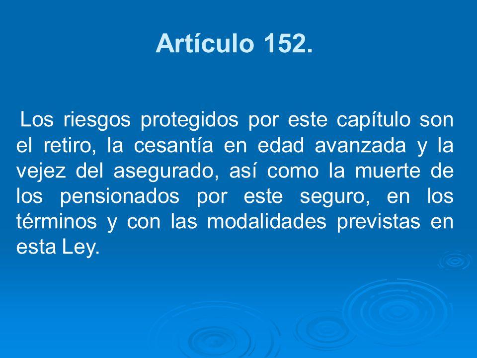 Artículo 152.