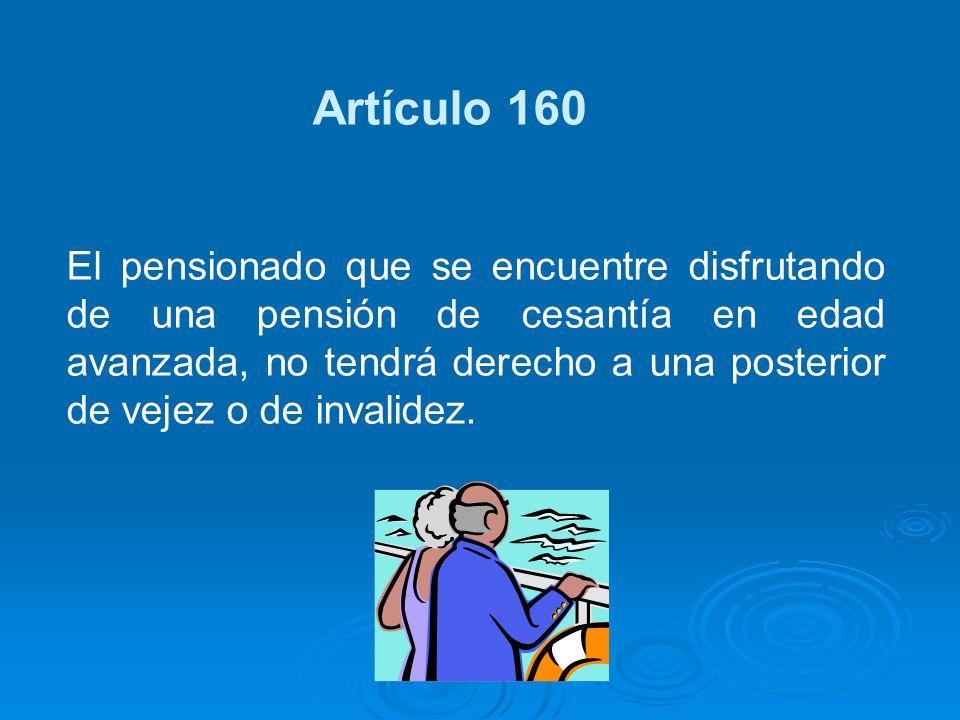 Artículo 160