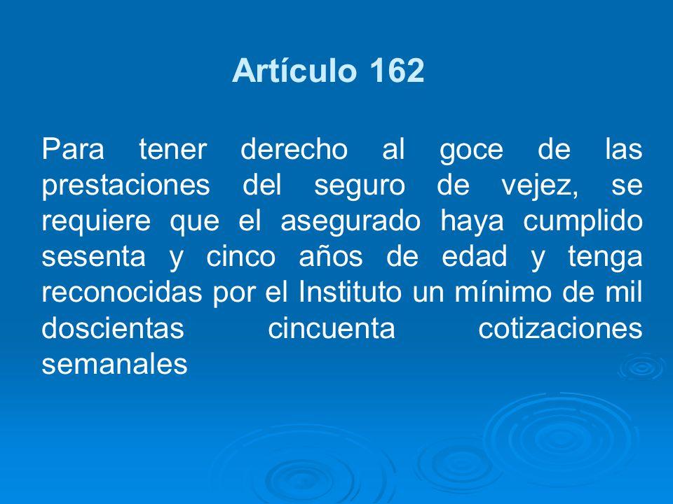Artículo 162