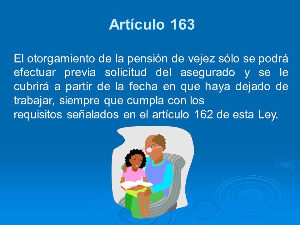 Artículo 163