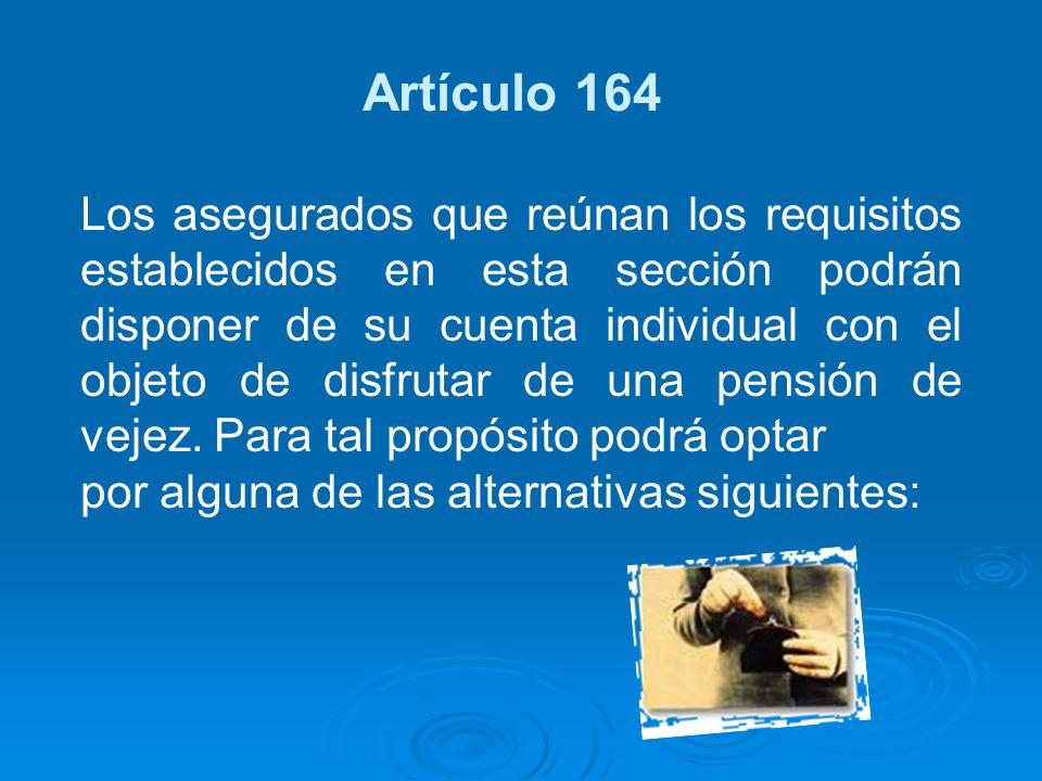 Artículo 164