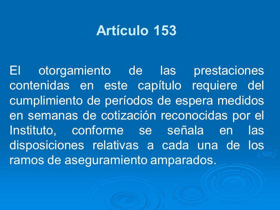Artículo 153
