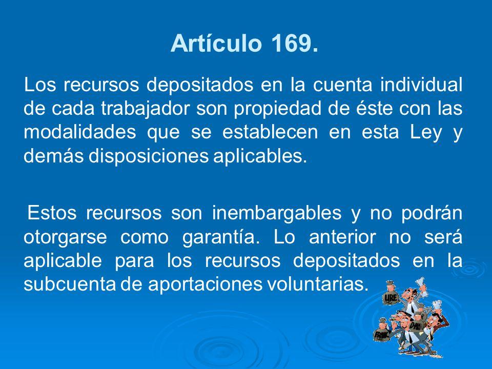 Artículo 169.