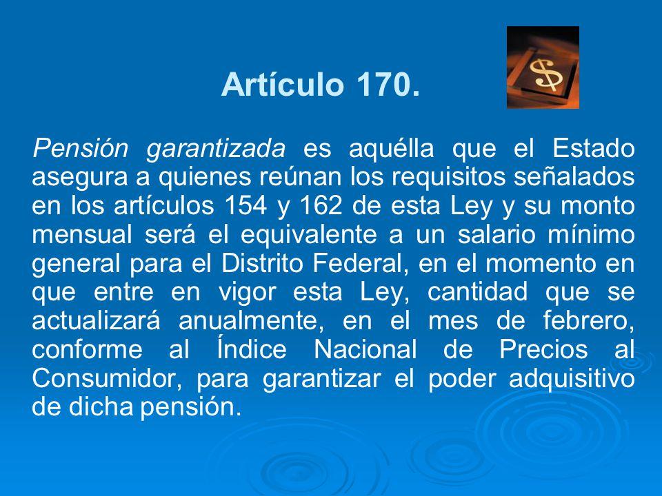 Artículo 170.