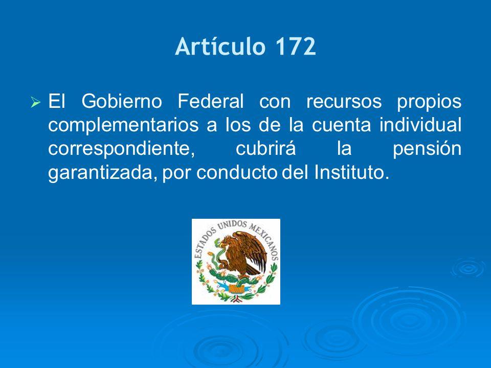 Artículo 172