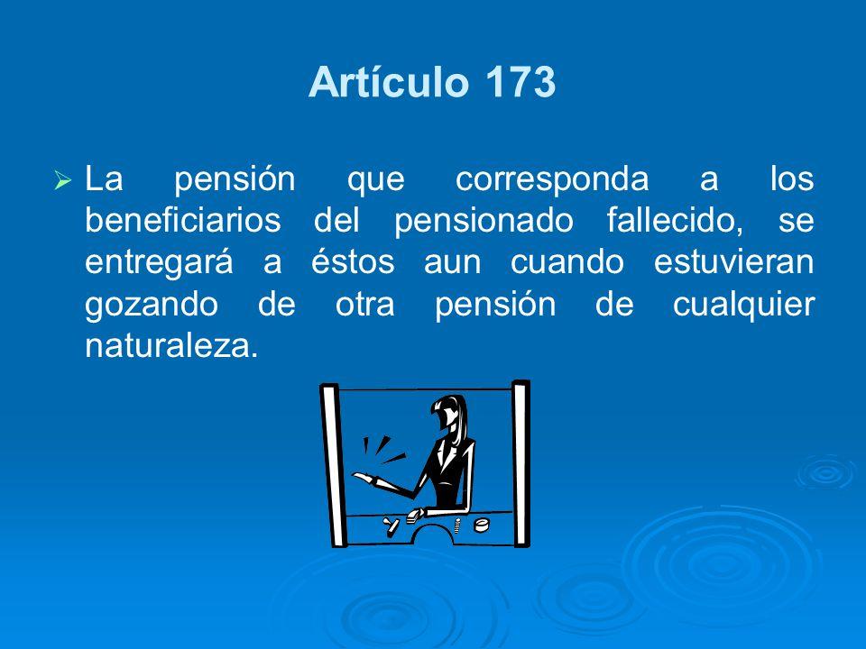Artículo 173