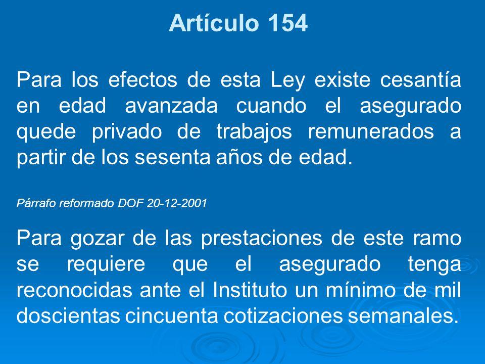 Artículo 154
