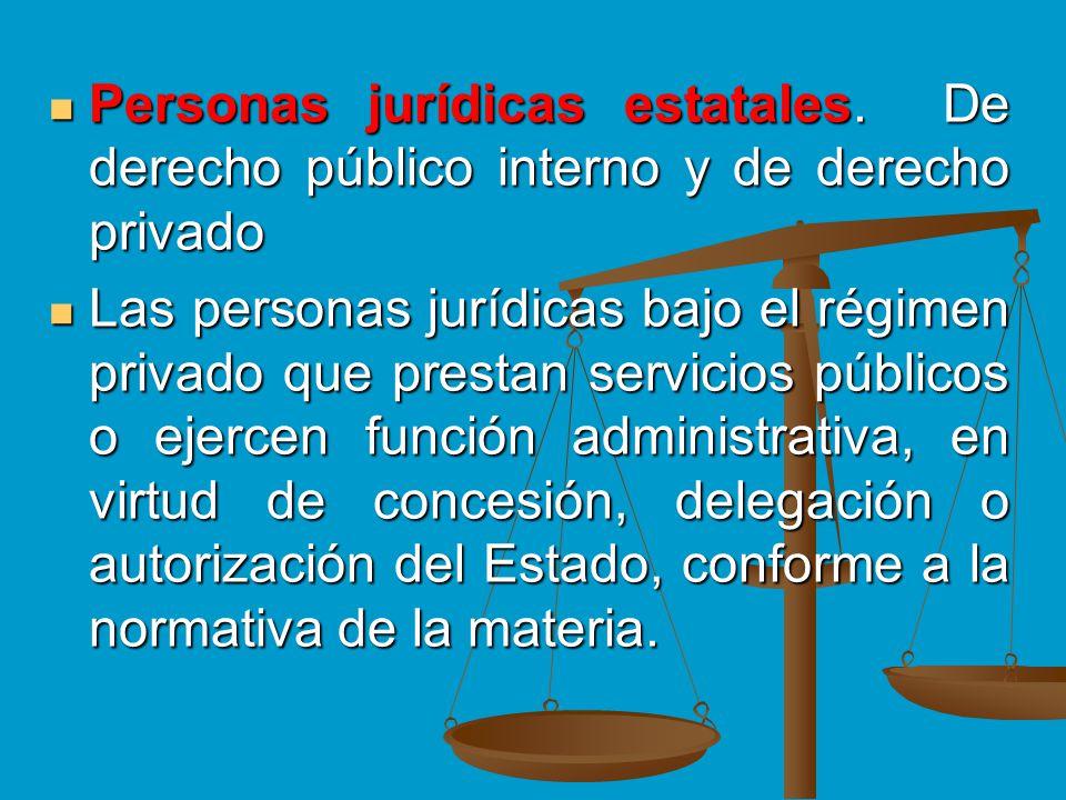 Personas jurídicas estatales