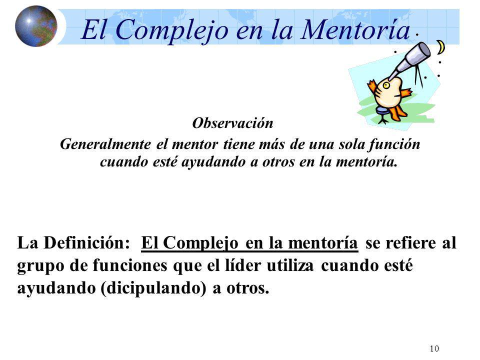 El Complejo en la Mentoría