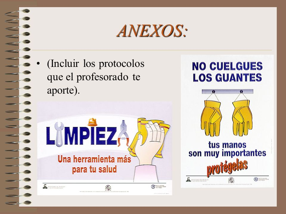 ANEXOS: (Incluir los protocolos que el profesorado te aporte).