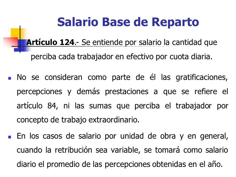 Salario Base de Reparto