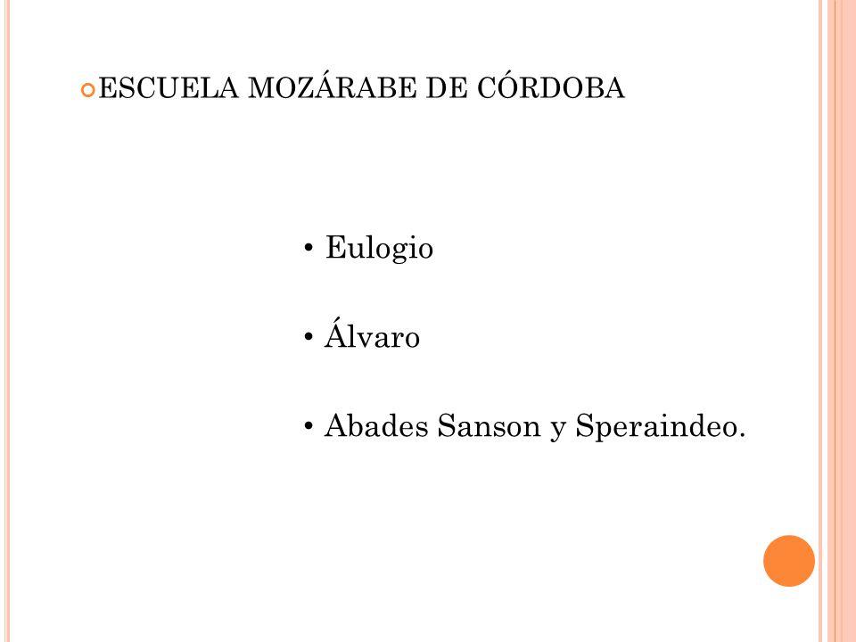 Abades Sanson y Speraindeo.