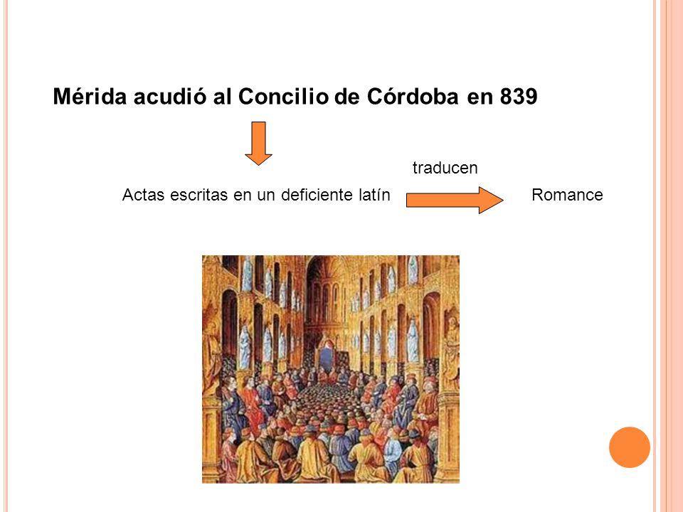 acudió al Concilio de Córdoba en 839