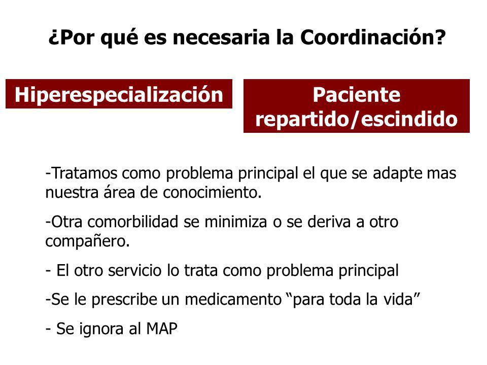 ¿Por qué es necesaria la Coordinación