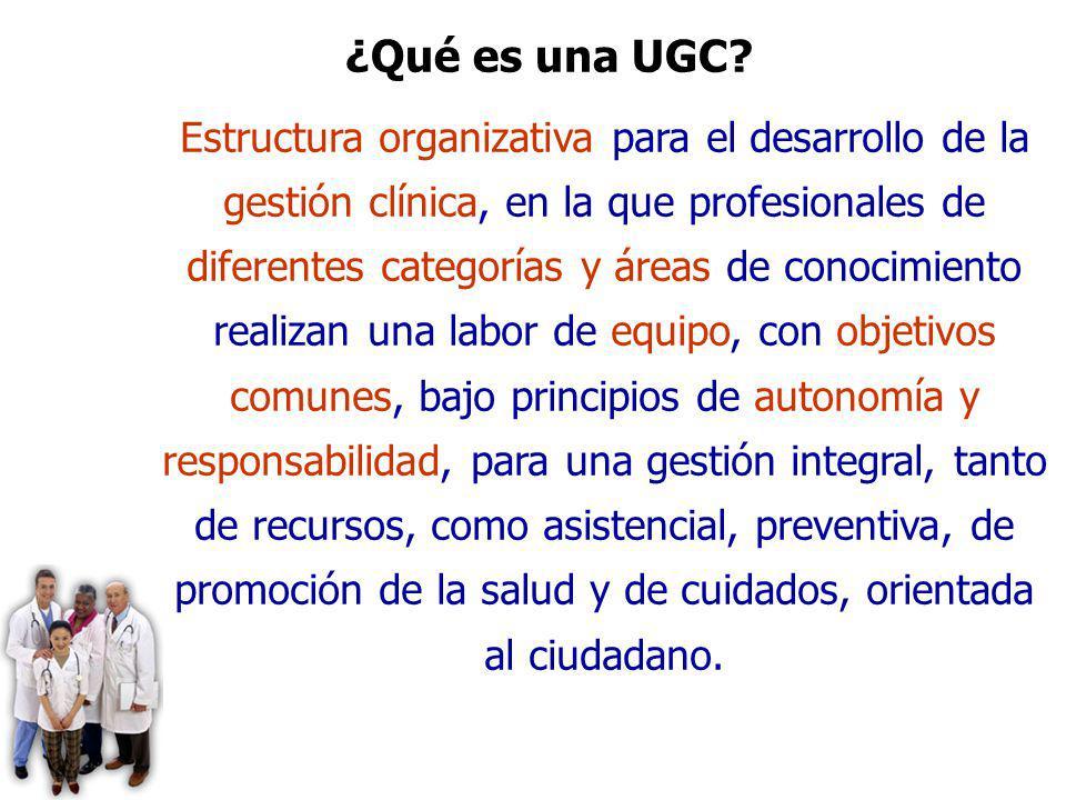 ¿Qué es una UGC