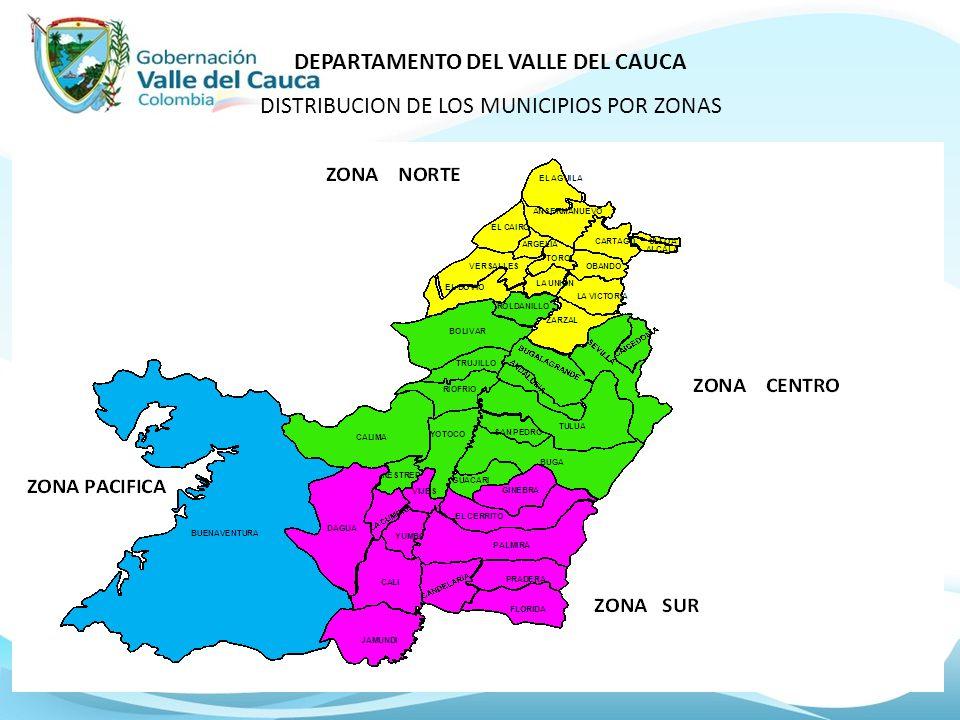 DEPARTAMENTO DEL VALLE DEL CAUCA