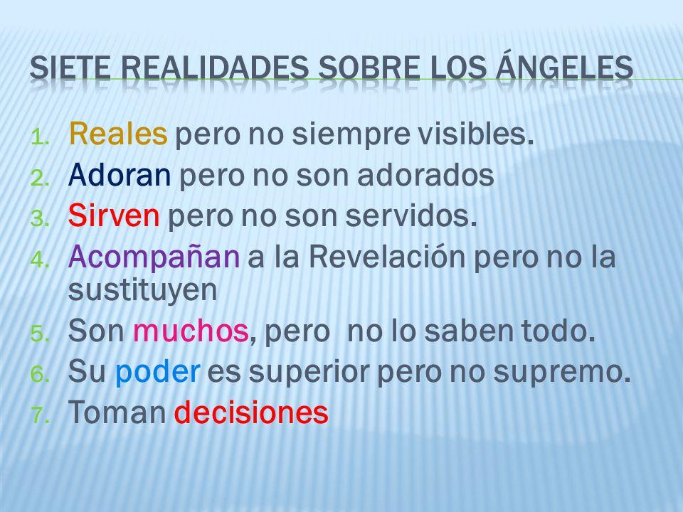 Siete realidades sobre los ángeles