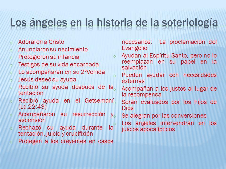 Los ángeles en la historia de la soteriología