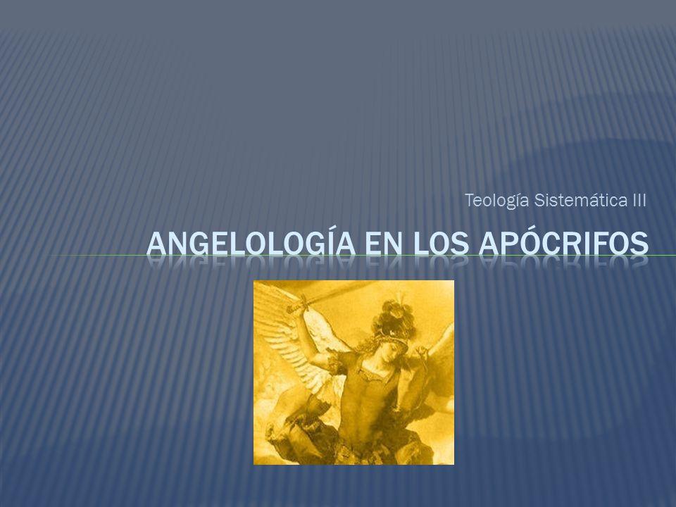 Angelología en los apócrifos
