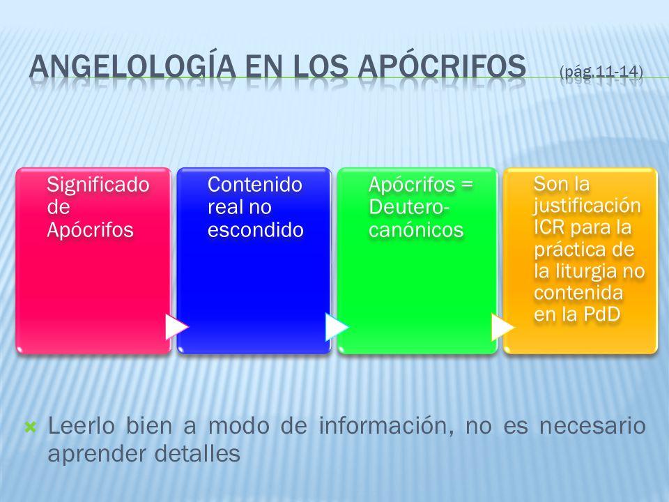 Angelología en los apócrifos (pág.11-14)