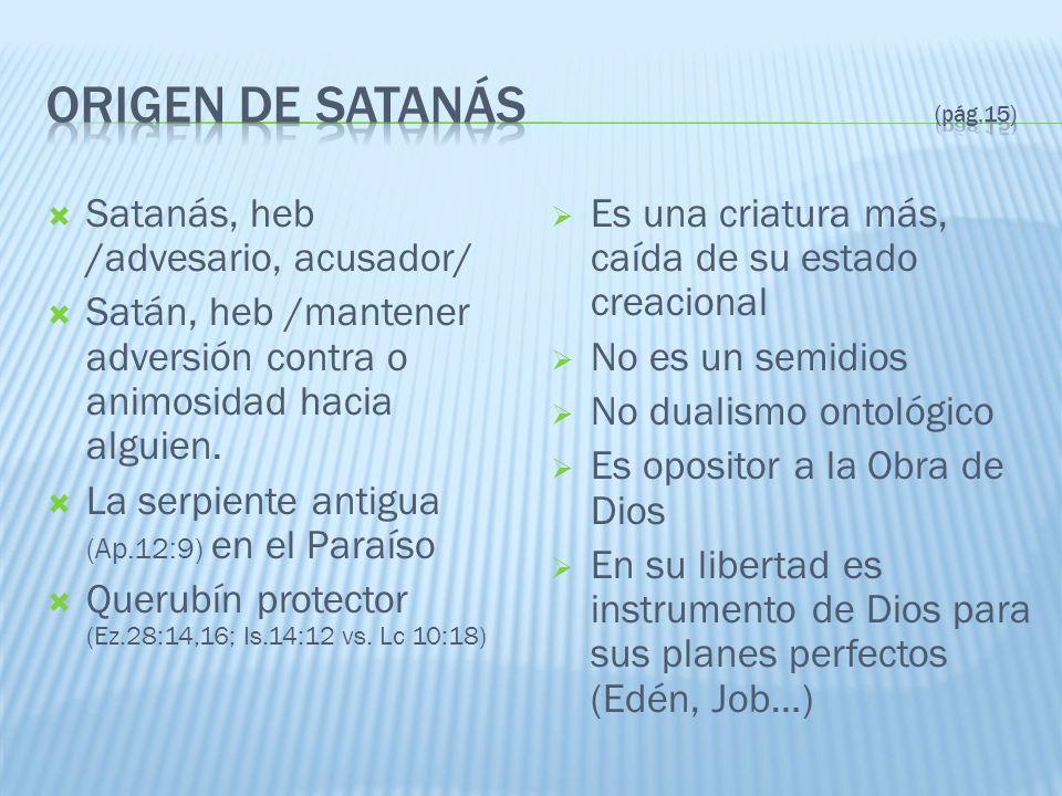 Origen de satanás (pág.15)