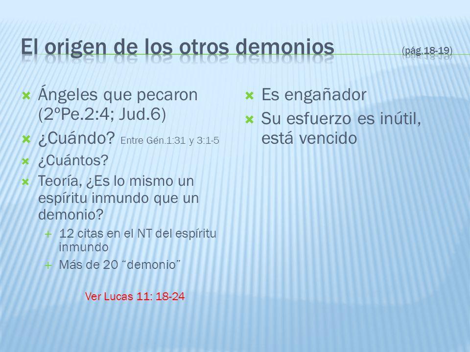 El origen de los otros demonios (pág.18-19)