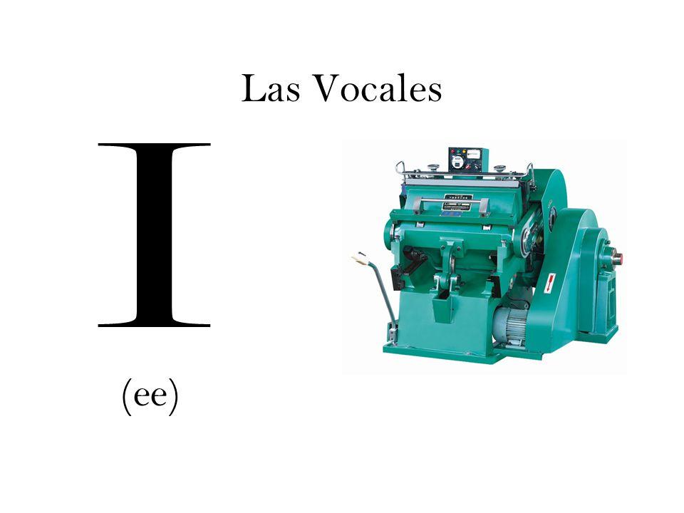 Las Vocales I (ee)