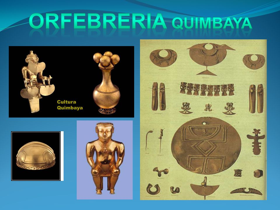 ORFEBRERIA QUIMBAYA
