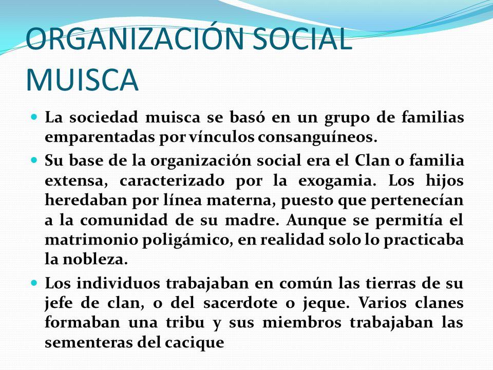ORGANIZACIÓN SOCIAL MUISCA