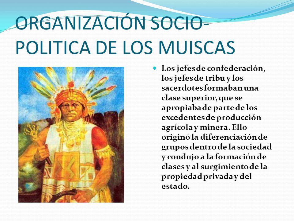 ORGANIZACIÓN SOCIO-POLITICA DE LOS MUISCAS