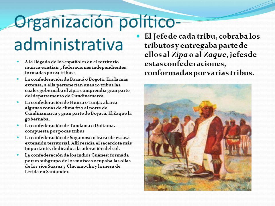 Organización político- administrativa
