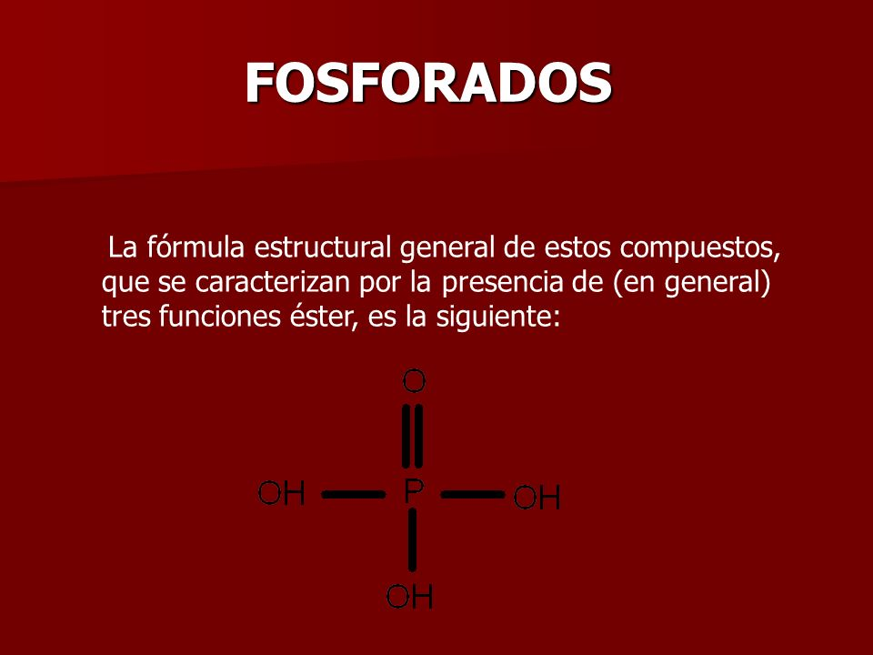 FOSFORADOS
