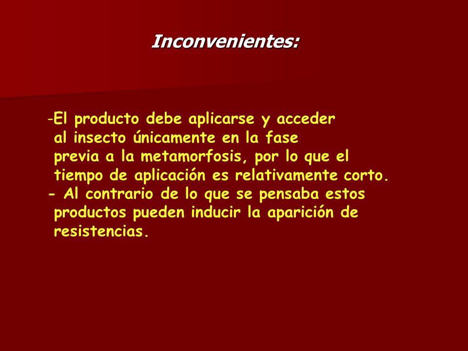 Inconvenientes: El producto debe aplicarse y acceder