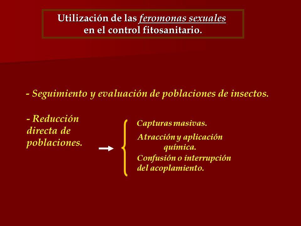 Utilización de las feromonas sexuales en el control fitosanitario.