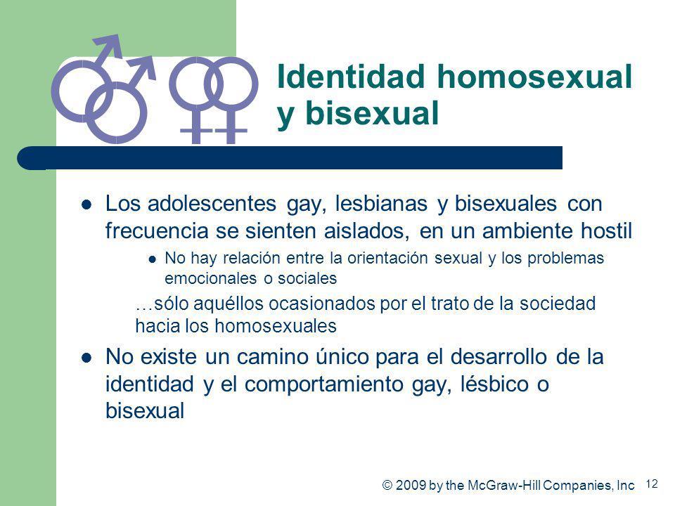 Identidad homosexual y bisexual