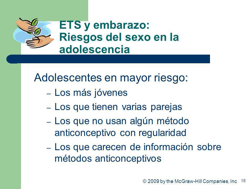 ETS y embarazo: Riesgos del sexo en la adolescencia