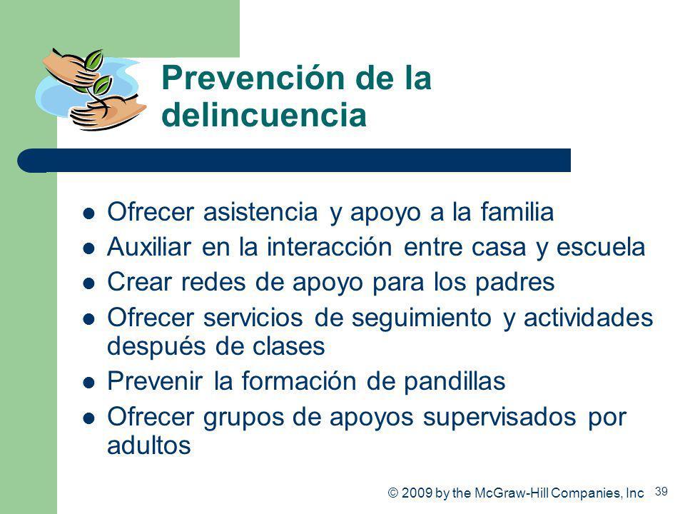 Prevención de la delincuencia