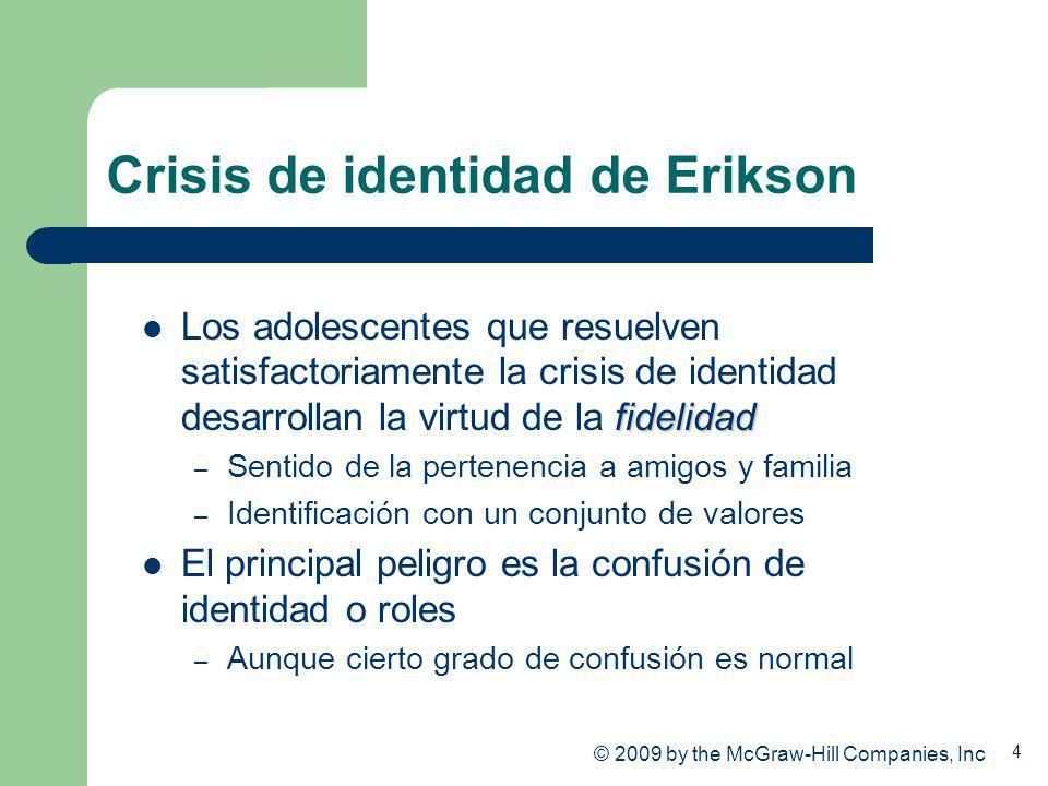 Crisis de identidad de Erikson